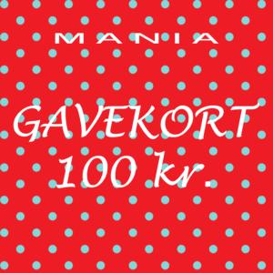 Gavekort kr. 100,-