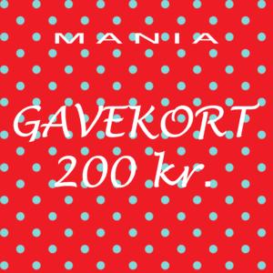 Gavekort kr. 200,-