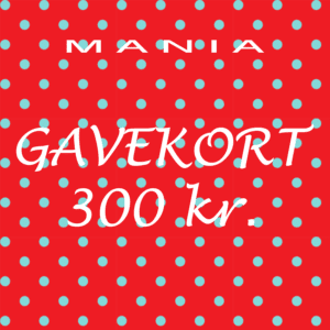 Gavekort kr. 300,-