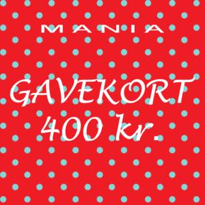 Gavekort kr. 400,-
