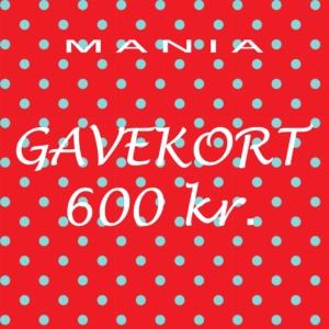 Gavekort kr. 600,-