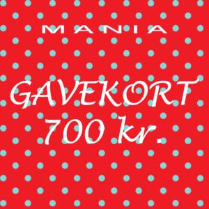 Gavekort kr. 700,-