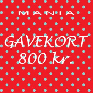 Gavekort kr. 800,-