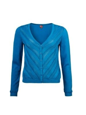 WTG Daslook Cardigan blue