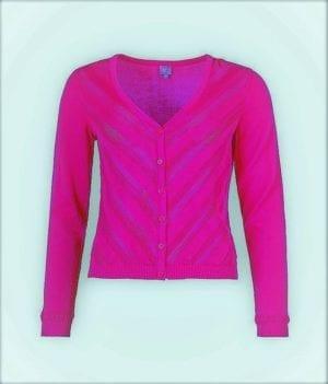 WTG Daslook Cardigan pink