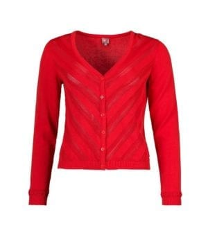WTG Daslook Cardigan red