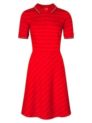 Wtg Queuing dress red