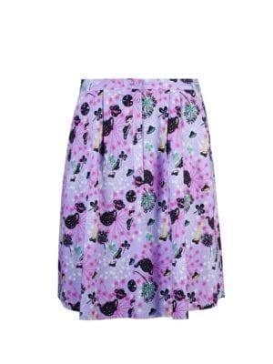 WTG Flower skirt lilac