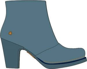 Gran Via boot memphis Artic blue