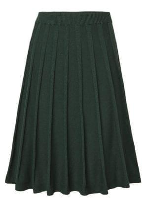 Henna skirt green