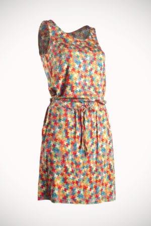 Blokje dress