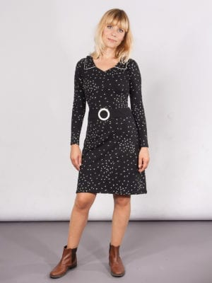Lea Dress black dandelion