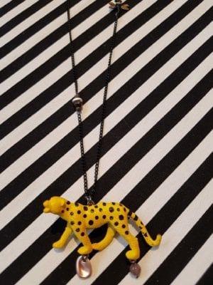 Leopard Halskæde