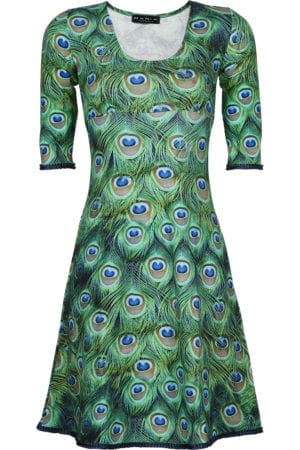Stella dress Peacock