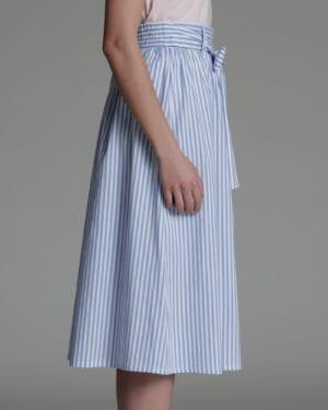 Imogen skirt stripe