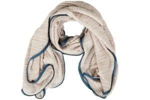 Tørklæde Pliss grey