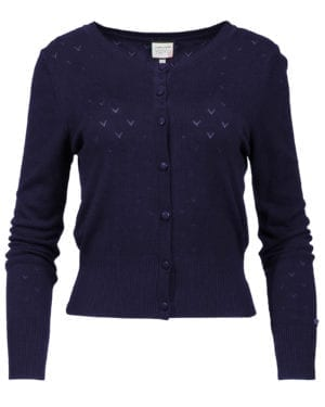 Cardigan-Some Cosiness navy