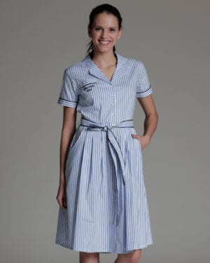 Tessa dress stripe