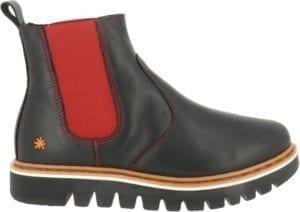 Toronto boot Grass black/Carmin