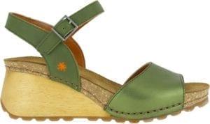 Art sandal BORNE metallic kaki