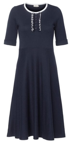 Rachel knit dress Navy