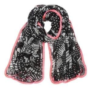 Tørklæde sally pink