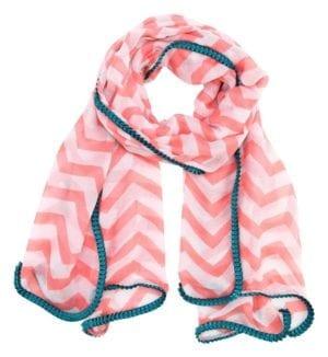 Xerrox Tørklæde pink/petrol