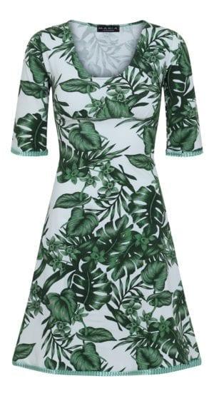 Stella Dress Green Leaf