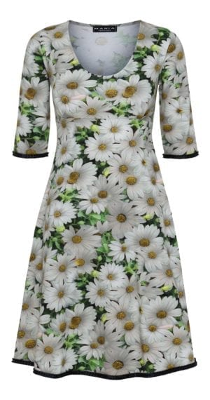 Yvette dress Daisy White