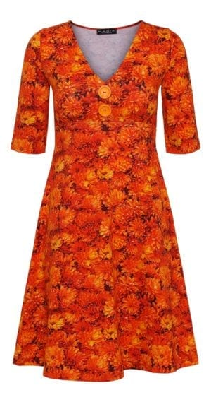 Bibbi Dress orange georgine