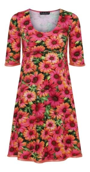 Yvette dress Daisy Coral