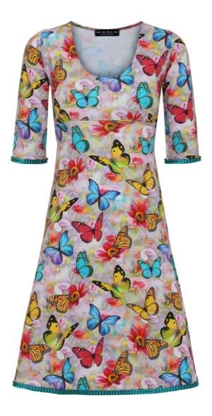 Stella Dress Butterfly world