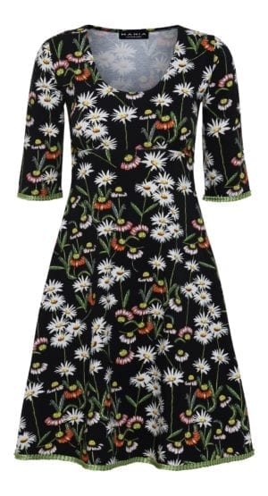 Yvette dress Daisy Black