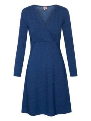 WTG Blad dress, navy
