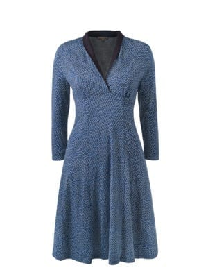 Maple dress navy