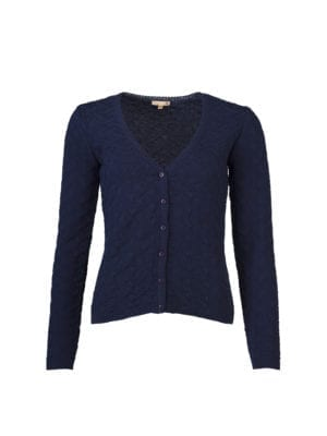 Kwadraat Cardigan Navy