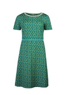WTG Alex Parrot dress green
