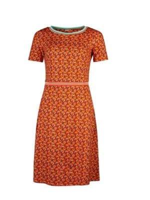 WTG Alex Parrot dress orange