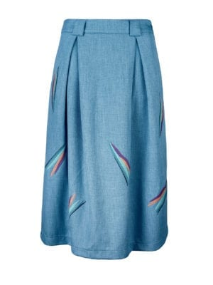 Glaze skirt Blue
