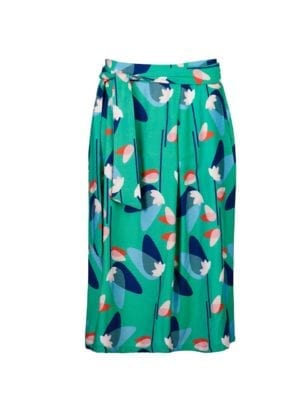 Wow Simple skirt green