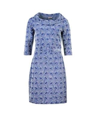 WTG Ginza dress blue